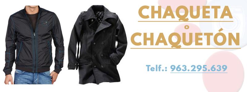 Limpiar chaqueta o chaqueton