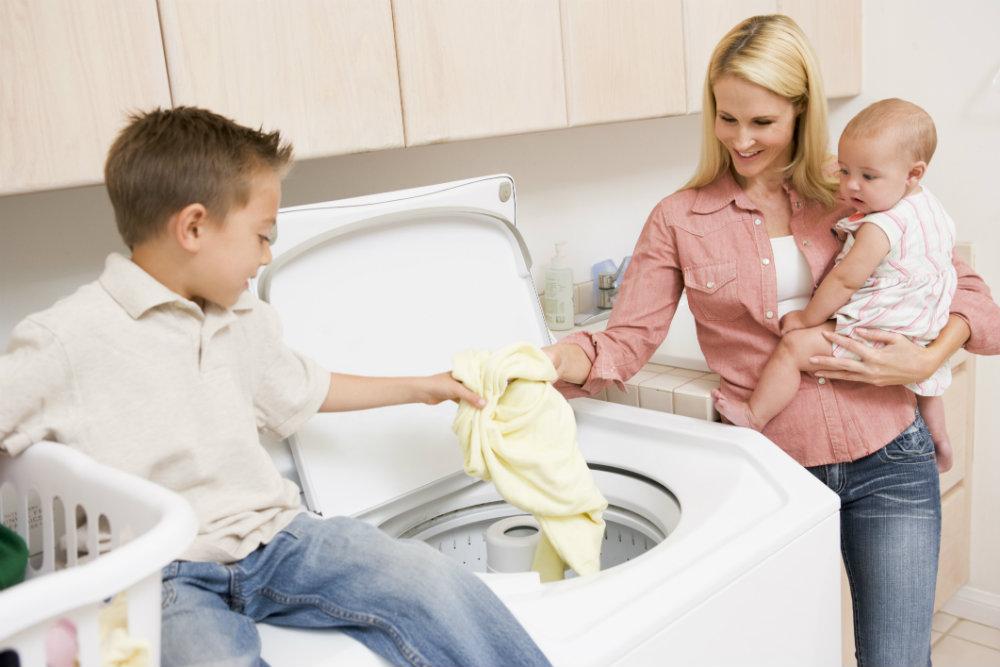limpiar ropa infantil y ropa bebe